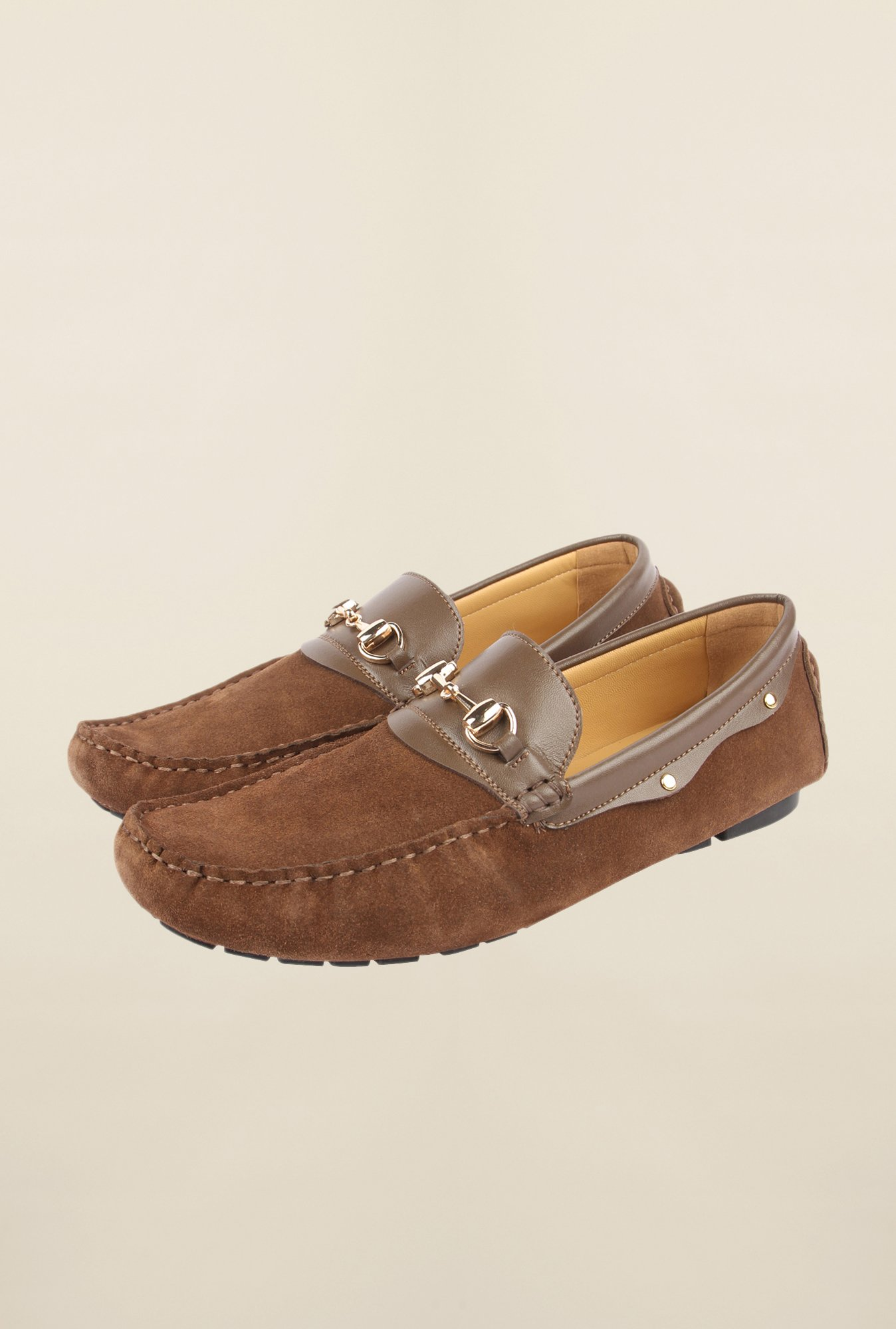 Cobblerz Camel Moccasin Shoes