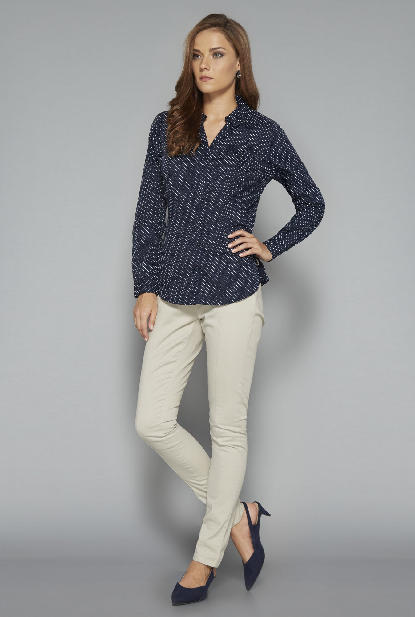 Wardrobe Navy Rita Blouse