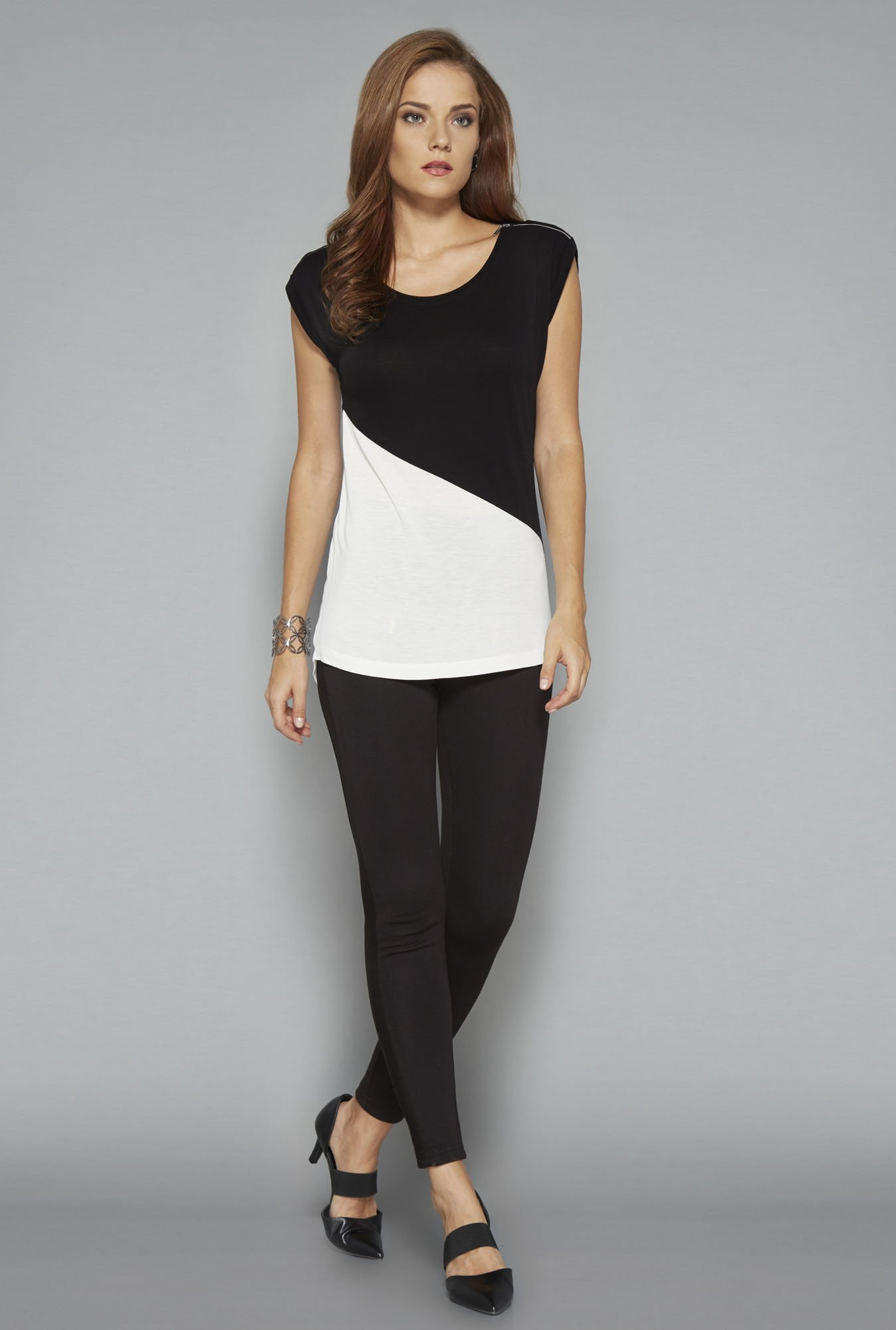Wardrobe Black & White Renne Top