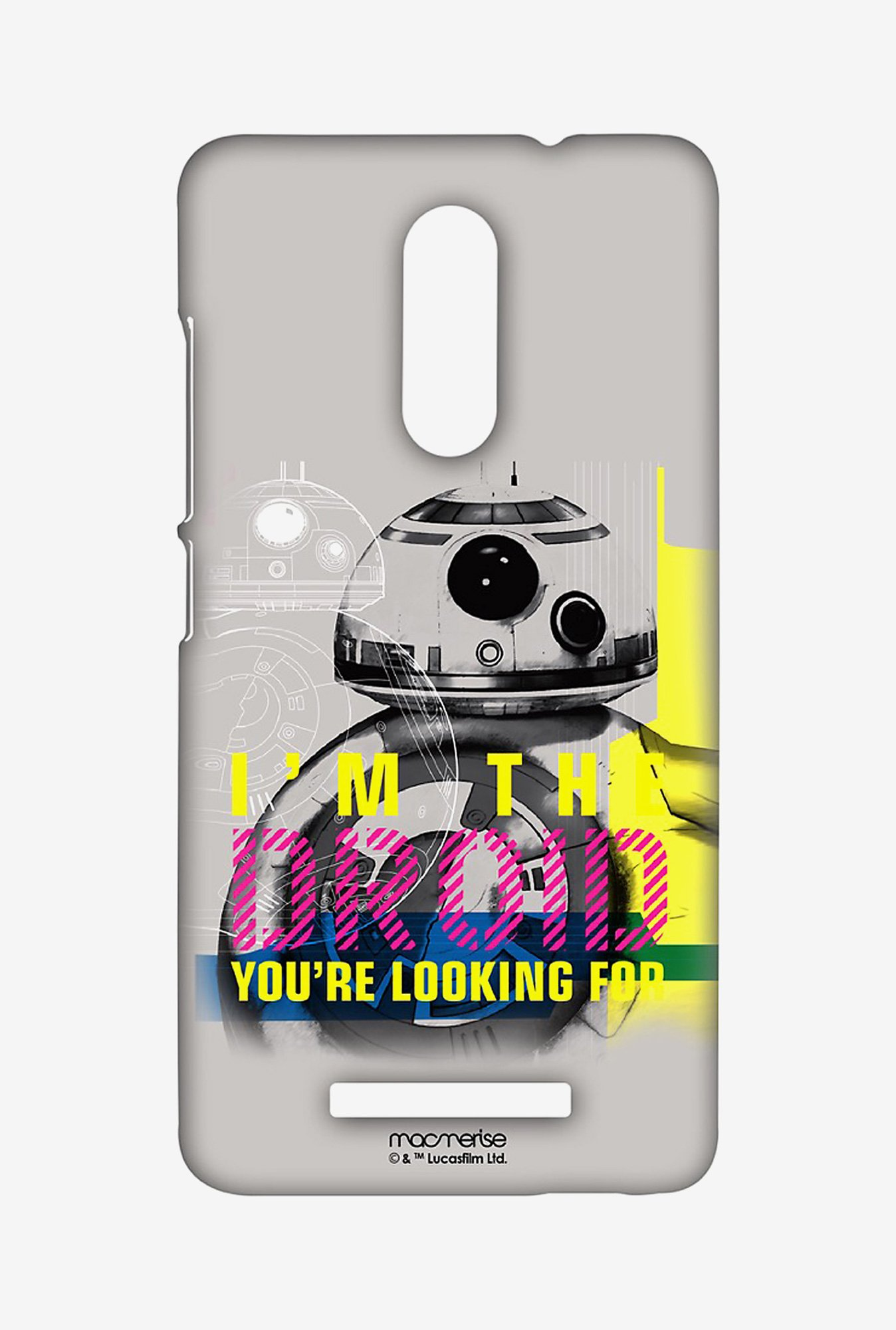 Macmerise Astromech Droid Sublime Case for Redmi Note 3