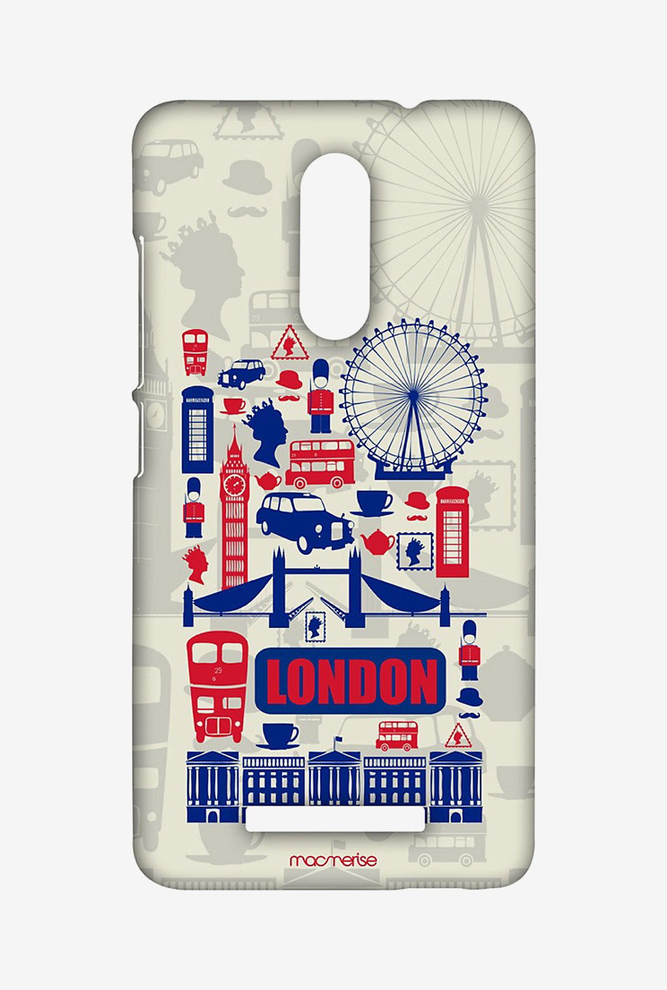 Macmerise City of London Sublime Case for Redmi Note 3