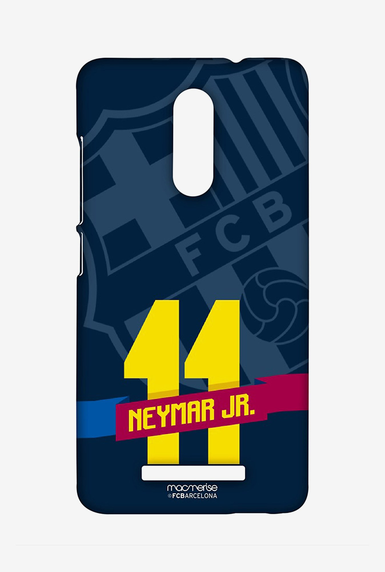 Macmerise Classic Neymar Sublime Case for Redmi Note 3