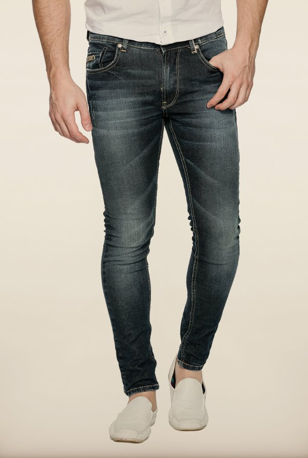 Spykar Blue Denim Jeans