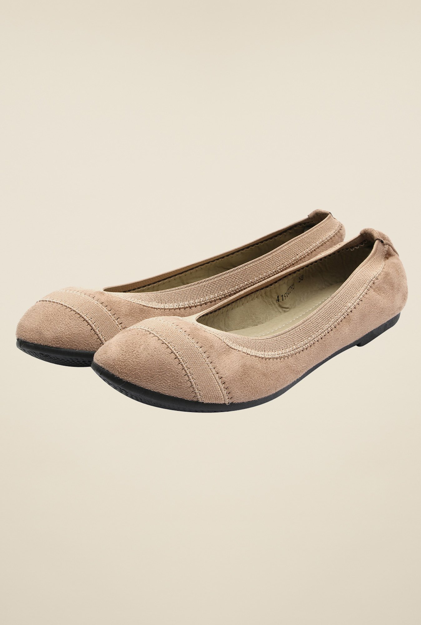 Solovoga Sobally Beige Ballerina Shoes