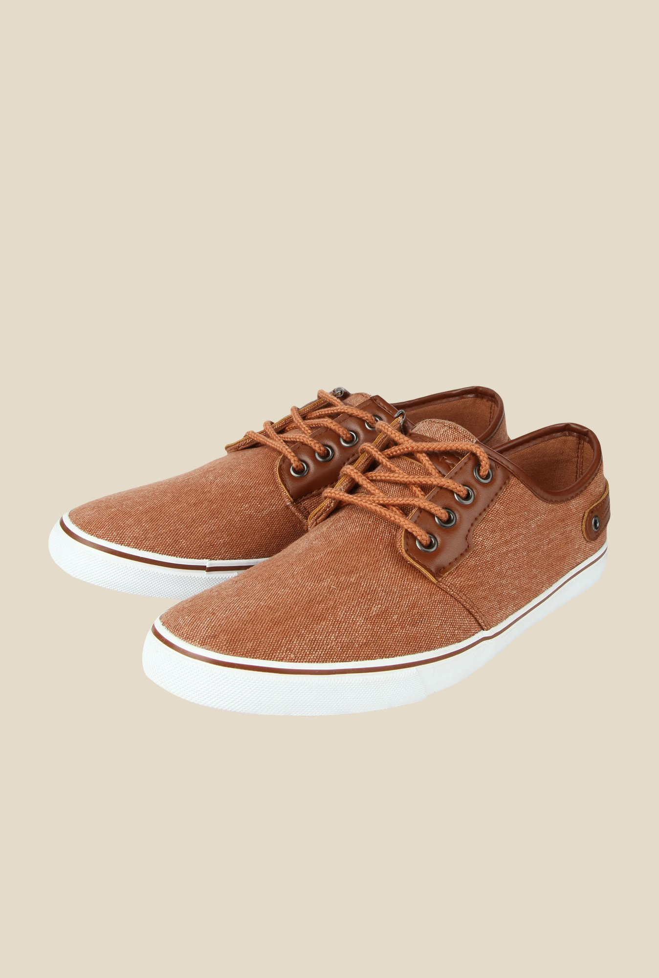 Spunk Brook Brown Sneakers