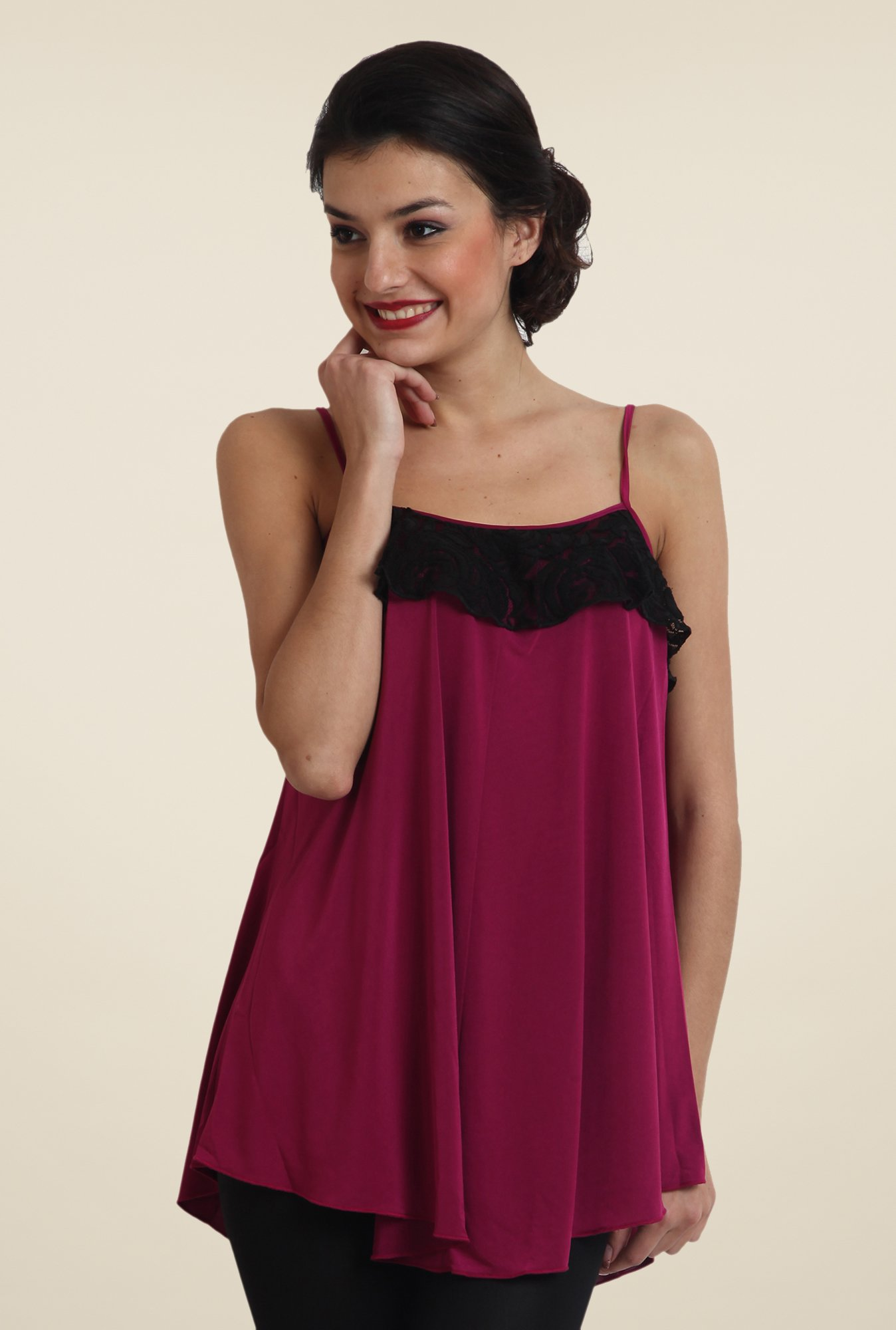 Avirate Wine Solid Top