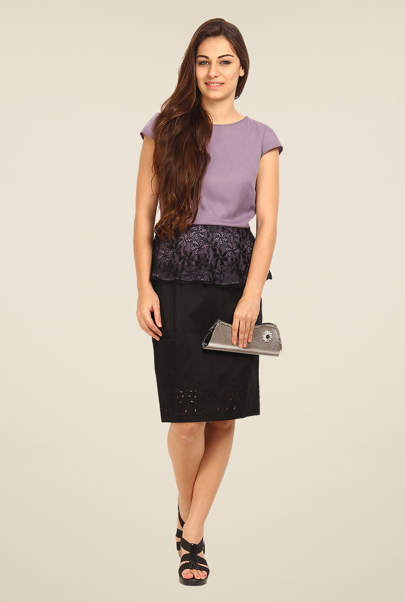 Avirate Lavender Solid Top