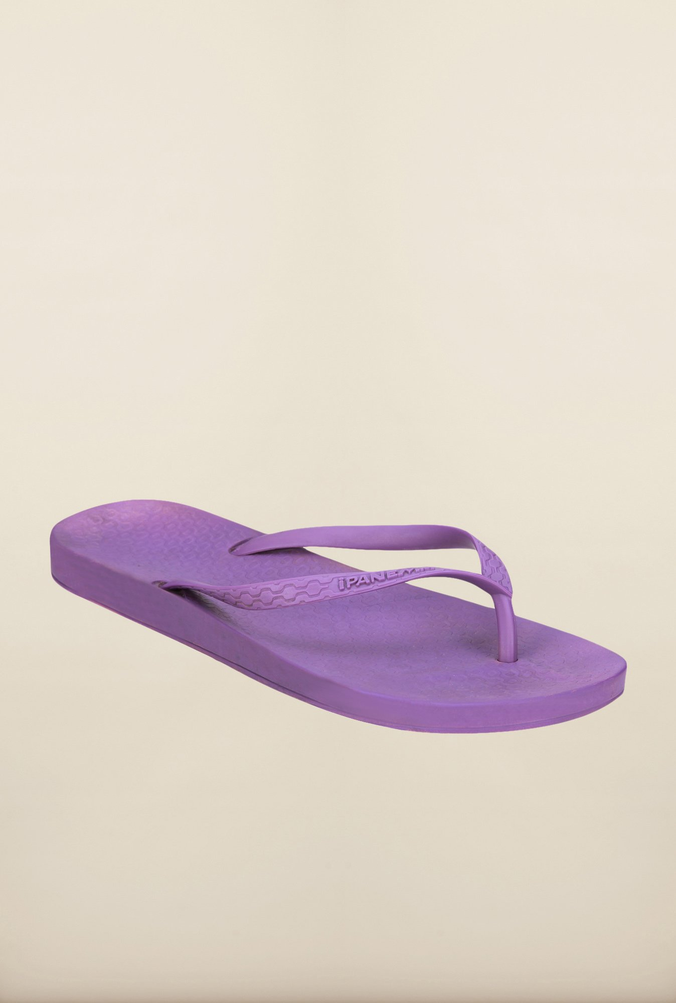 Ipanema Purple Thong Flip Flops