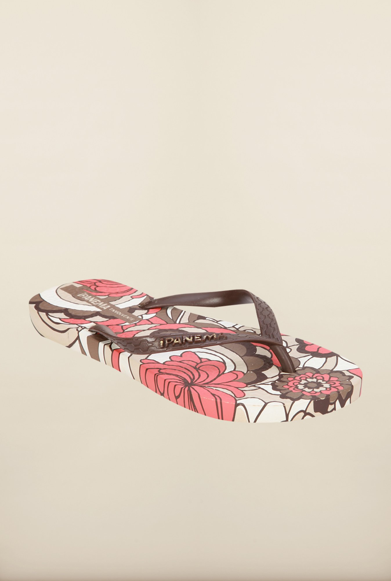 Ipanema Brown Thong Flip Flops