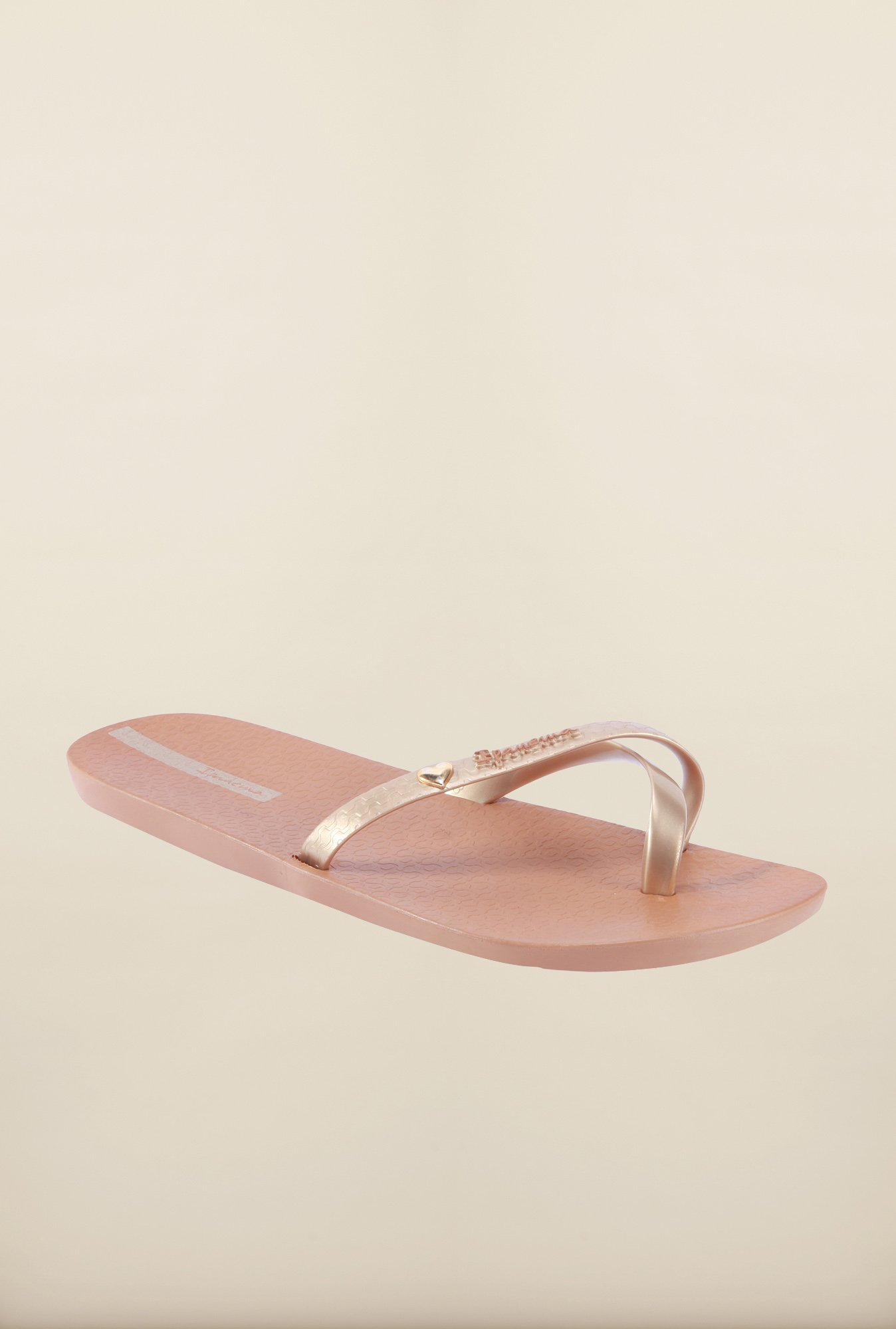 Ipanema Golden & Brown Flip Flops