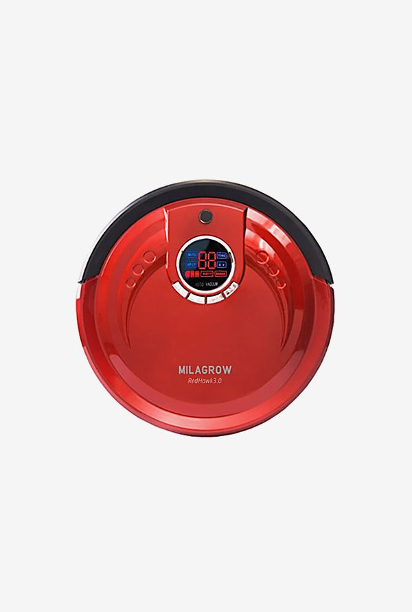 Milagrow RedHawk 3.0 Robot Vacuum Cleaner (Red)