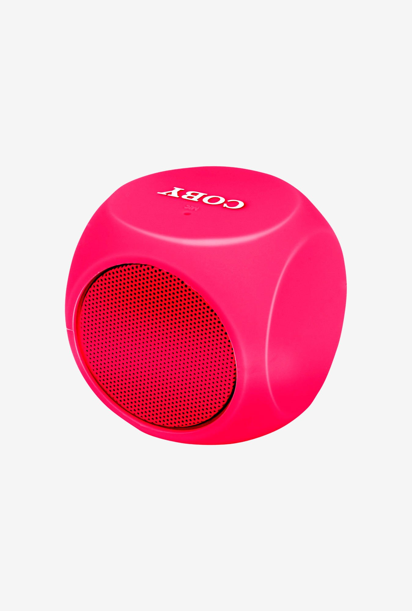 Coby CSBT-314-RED Cube Mini Bluetooth Speaker (Red)
