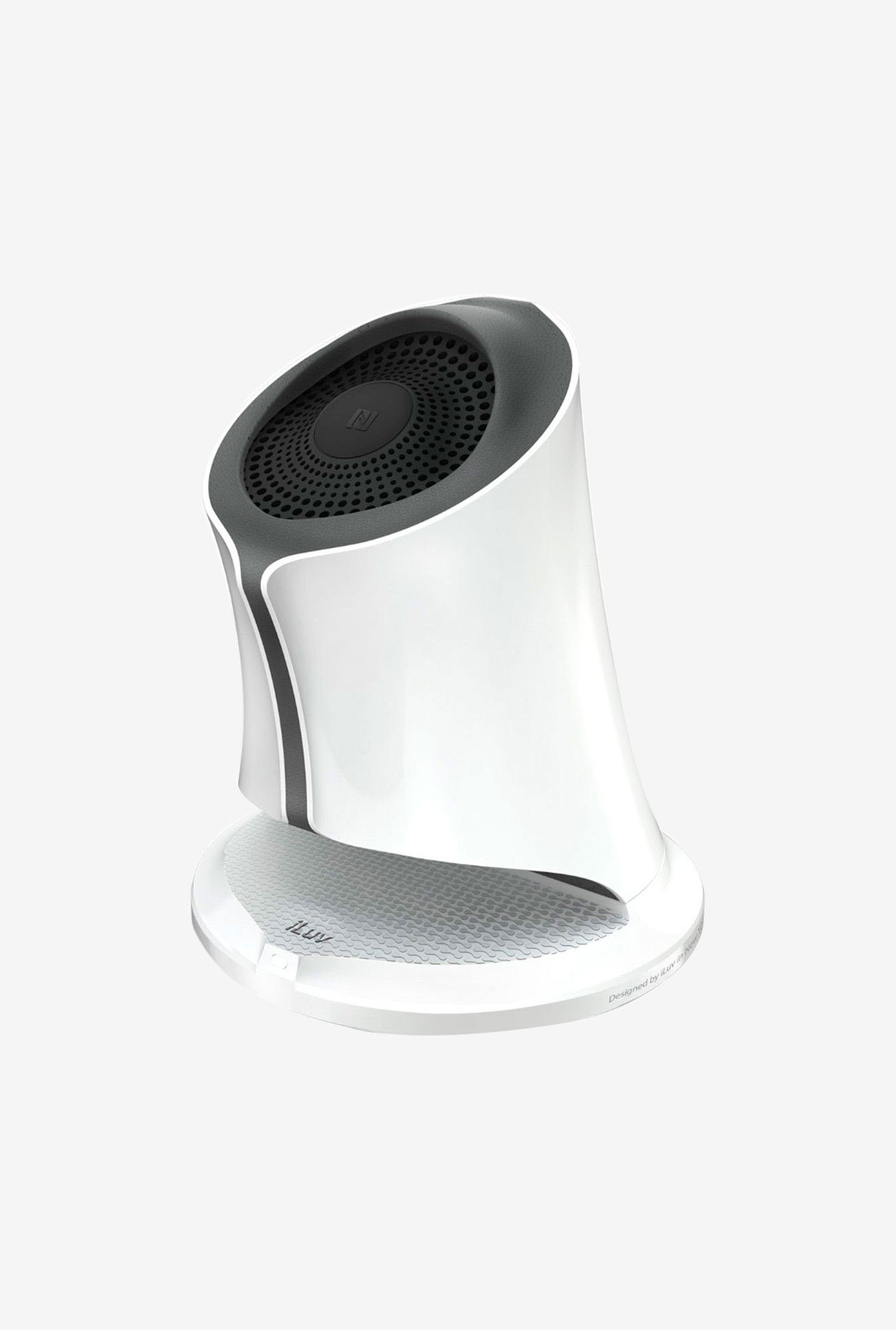 iluv Syren Nfc-Enabled Bluetooth Speaker (White)