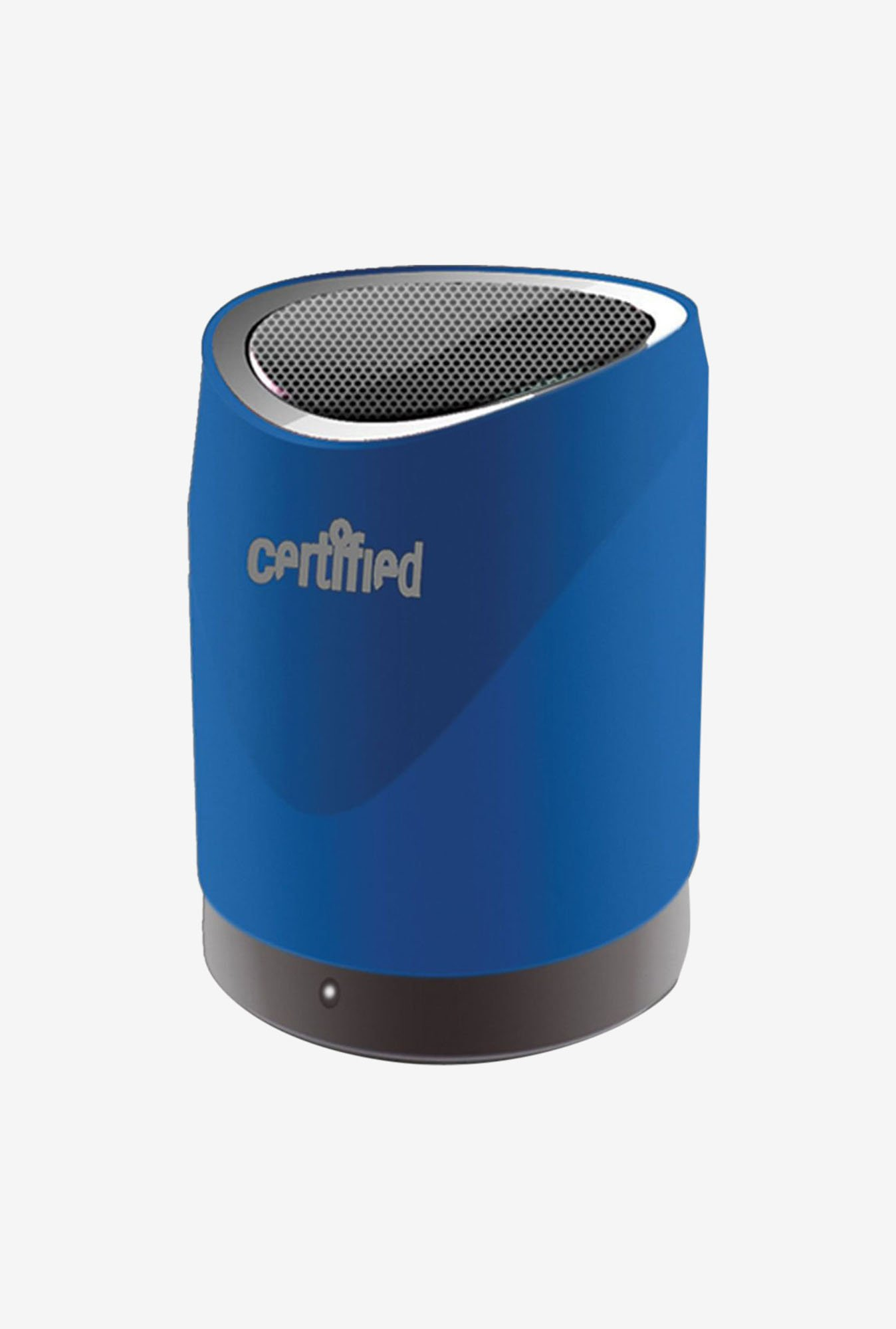 Certified SPBT200BL Mini Portable Bluetooth Speaker (Blue)