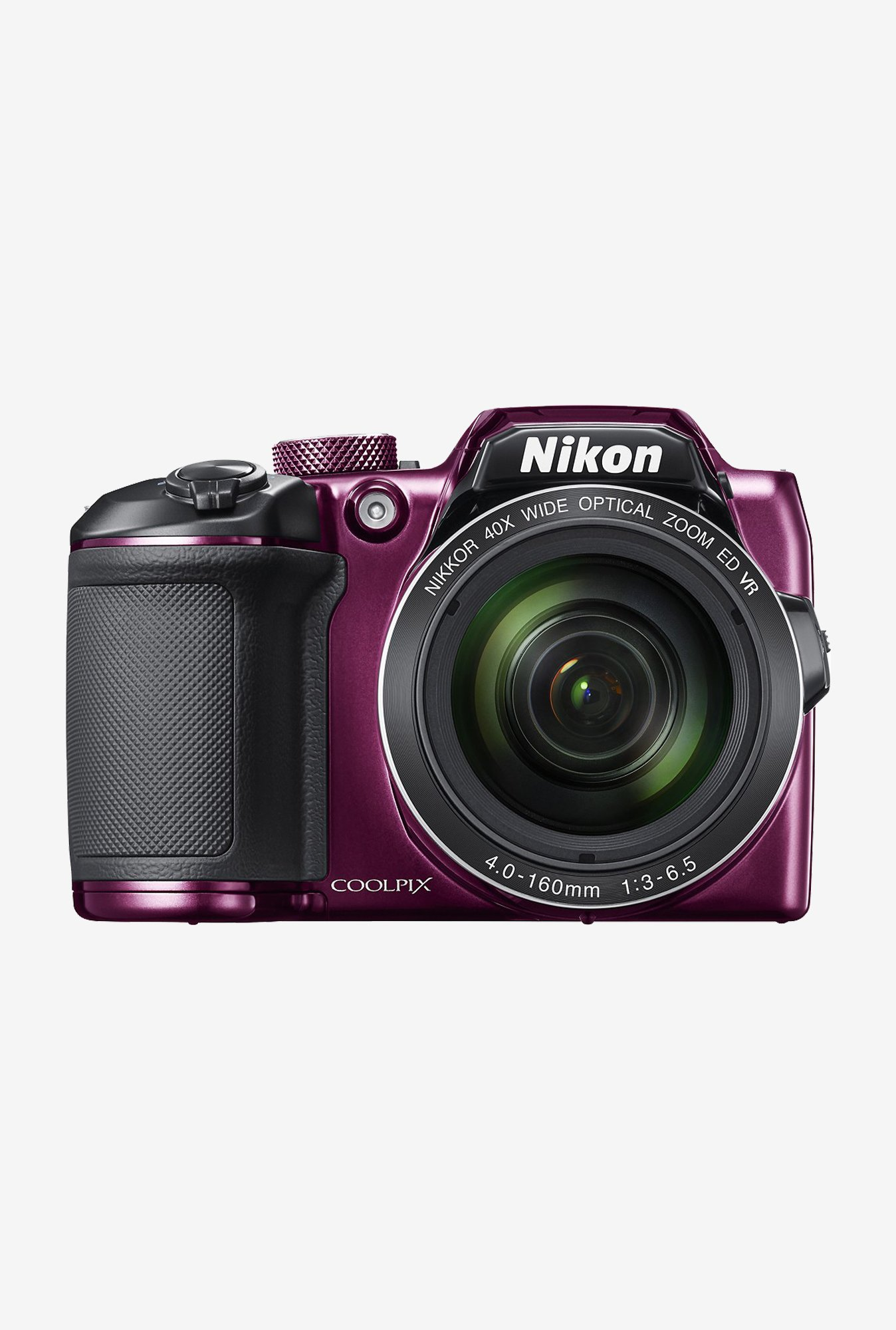 Nikon Coolpix B500 Point & Shoot Camera (Plum)