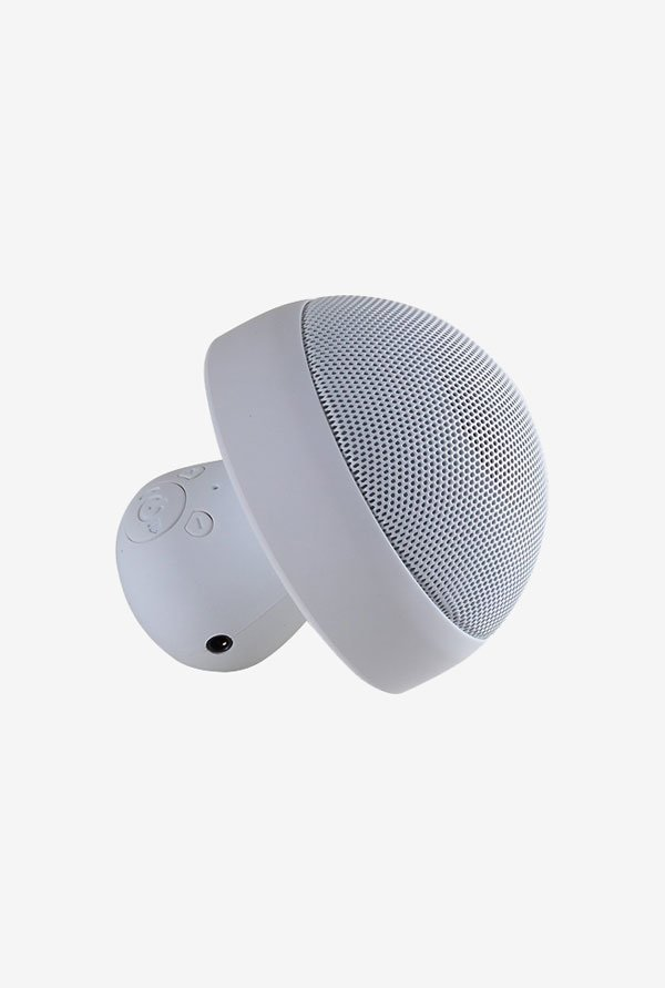 Kinglake KL-M02 Mushroom Mini Bluetooth Speaker (White)