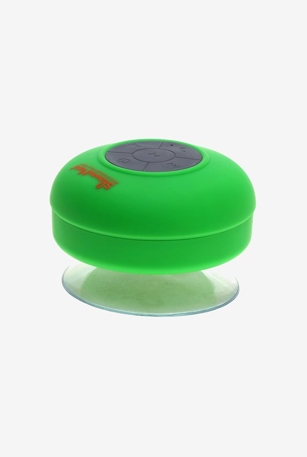 Shower-Mate s4 Water Resistant Bluetooth Speaker (Green)