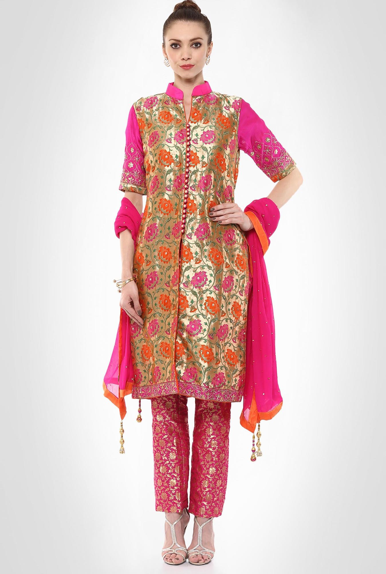 Kshitija Rana Designer Wear Kurta Trouser Set By Kimaya