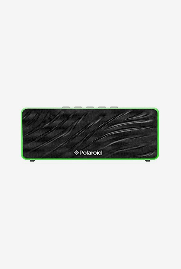Polaroid PBT556GR 2014 Portable Bluetooth Speaker (Green)