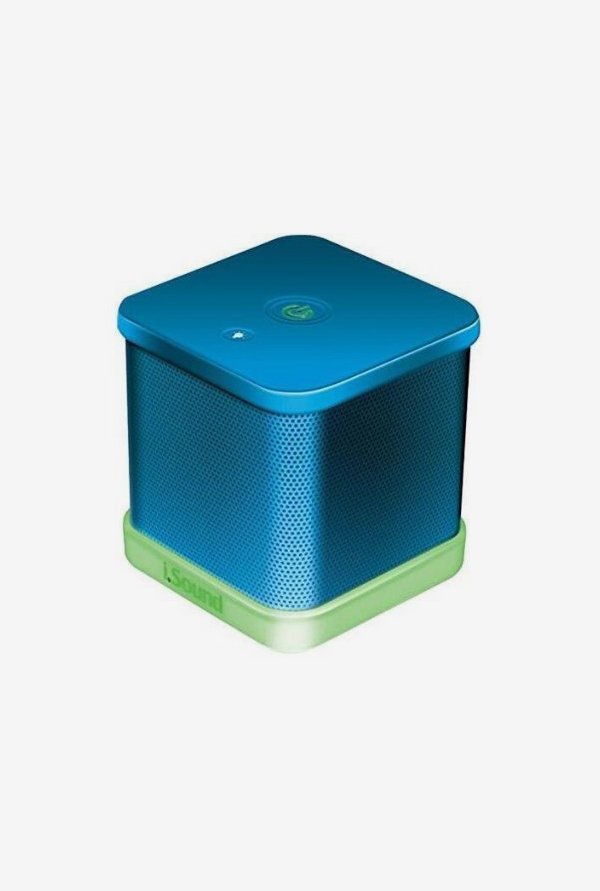 Isound 6206 Cube Speaker (Blue)