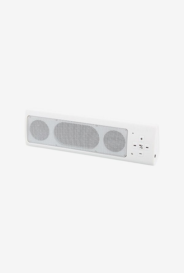 Aroc Electronics BTS-1001 Bluetooth Stereo Speaker (White)