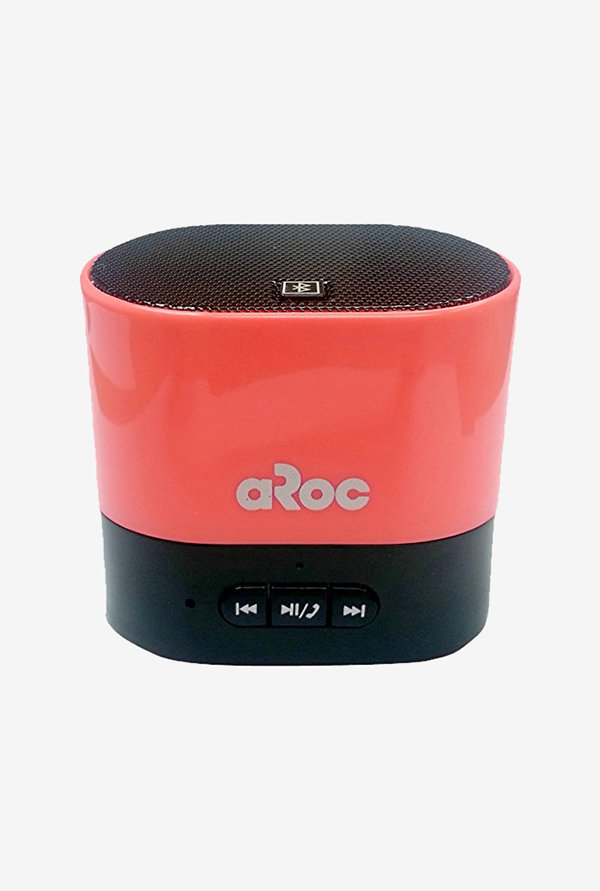 Aroc Electronics BTS-600 Bluetooth Speaker (Red)