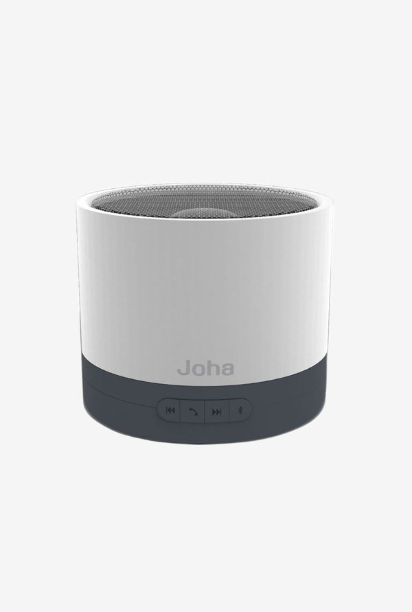 Joha JBS601 Bass Speaker with Microphone (Silver)