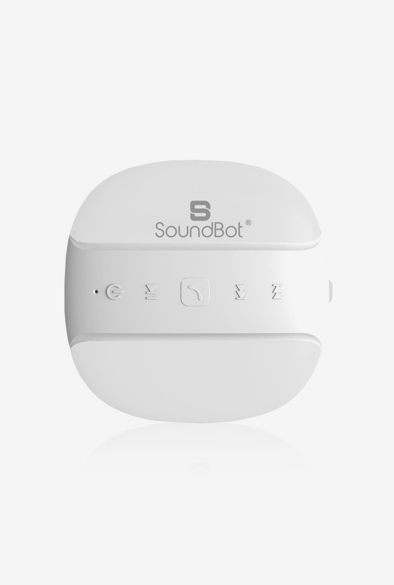 SoundBot SB513 Bluetooth Shower Speaker (White)
