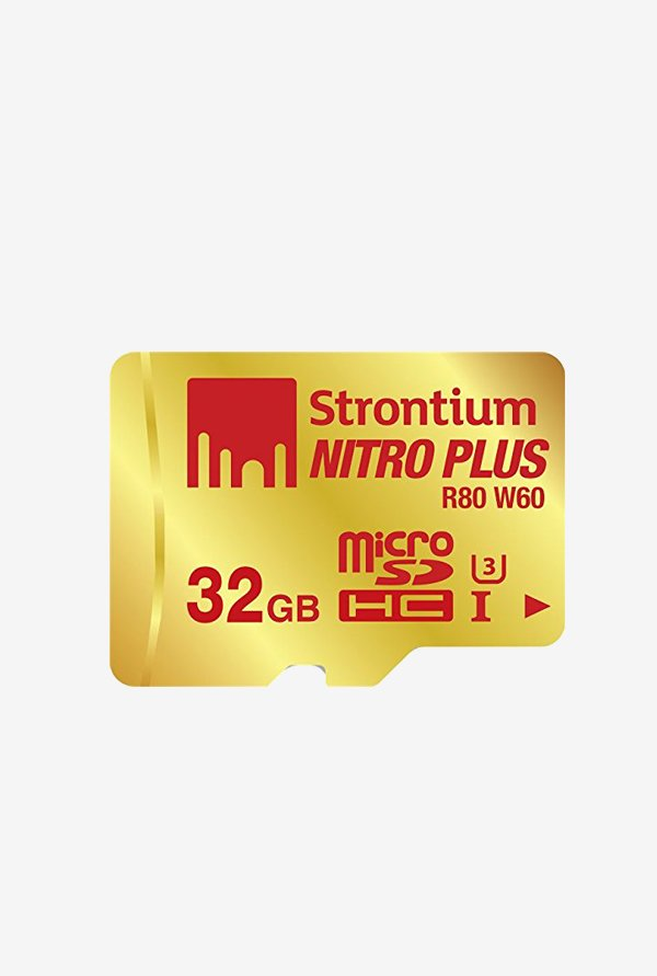 Strontium 32 GB MicroSD Nitro Plus UHS-I with Adaptor&Reader