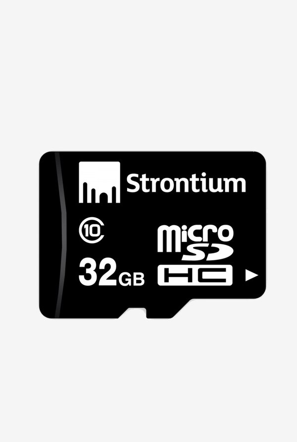 Strontium 32 GB Micro SD With Adapter Class 10 Memory Card