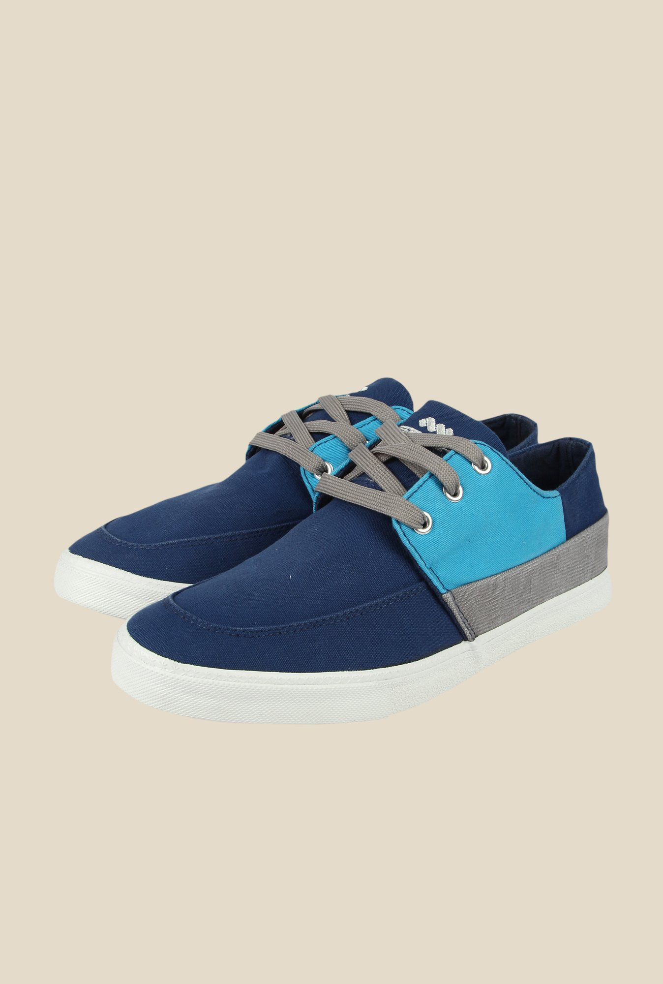 Spunk Patina Navy & Blue Casual Shoes