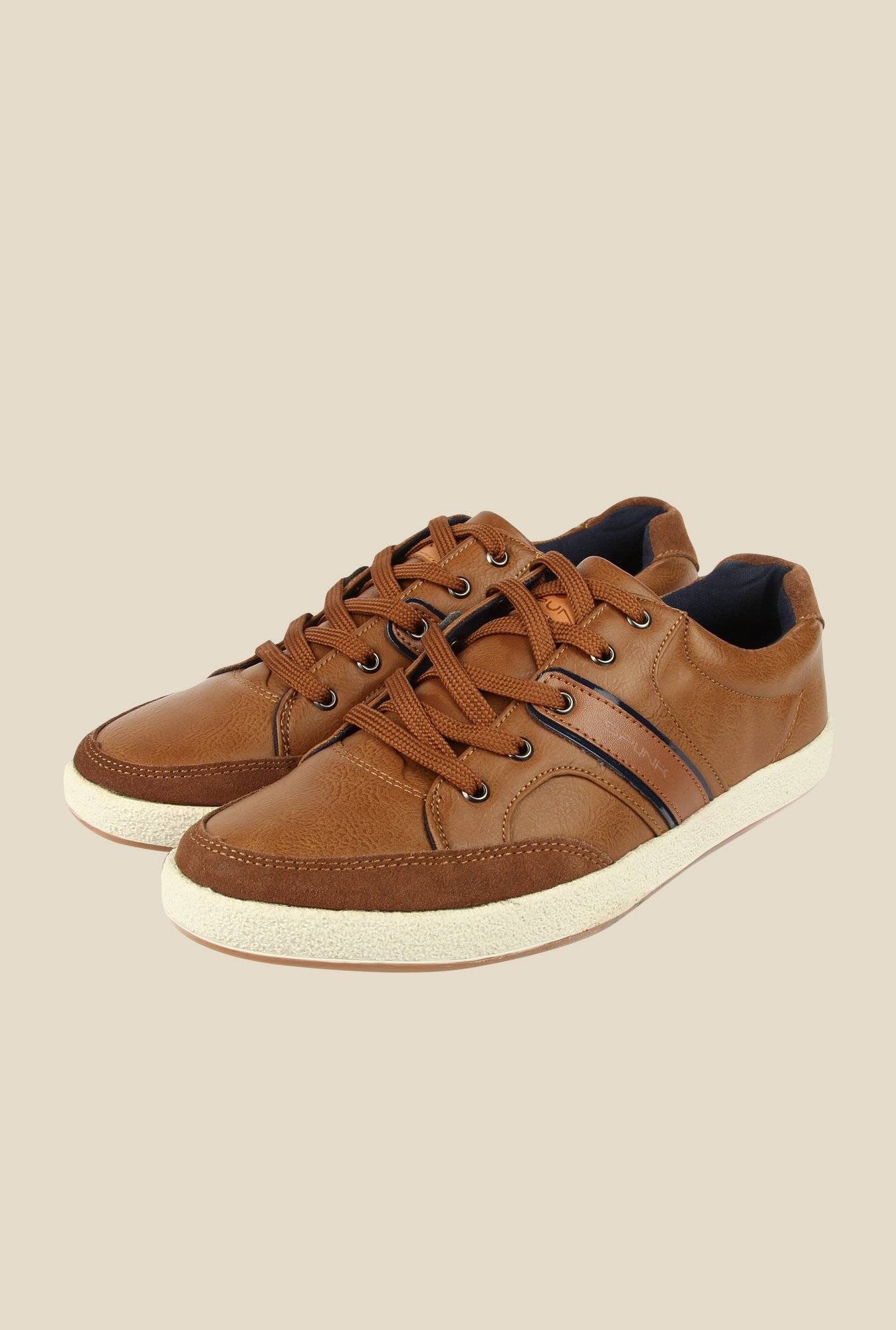Spunk Pebble Camel Sneakers