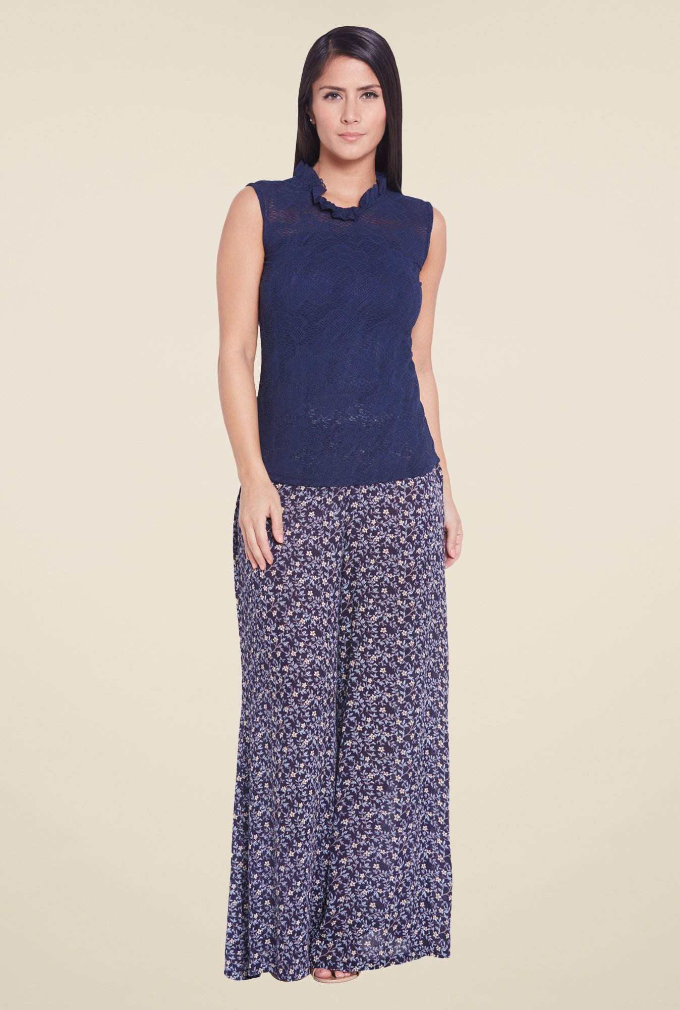 Globus Indigo Sleeveless Top