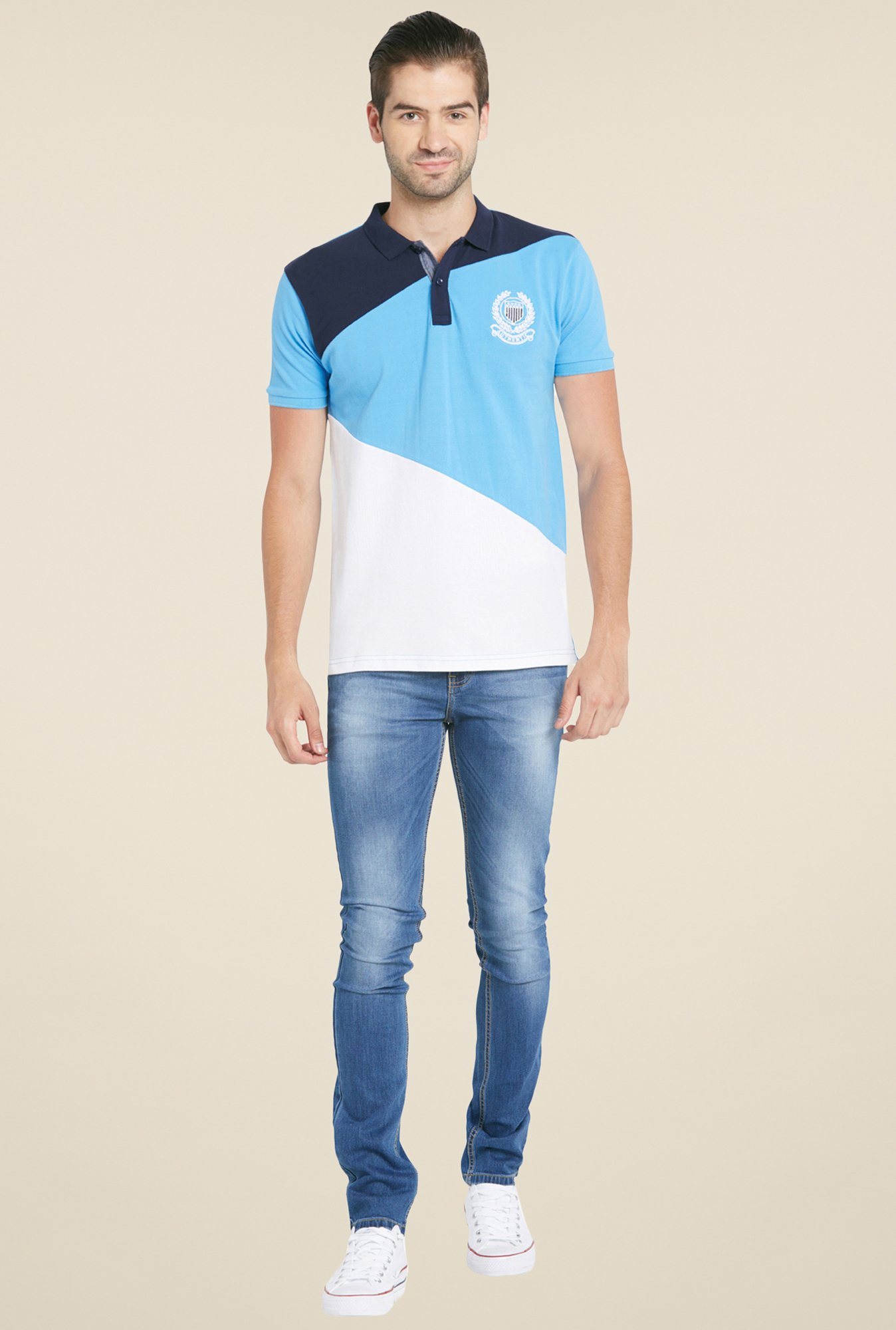 Globus Multicolor Solid Polo T Shirt