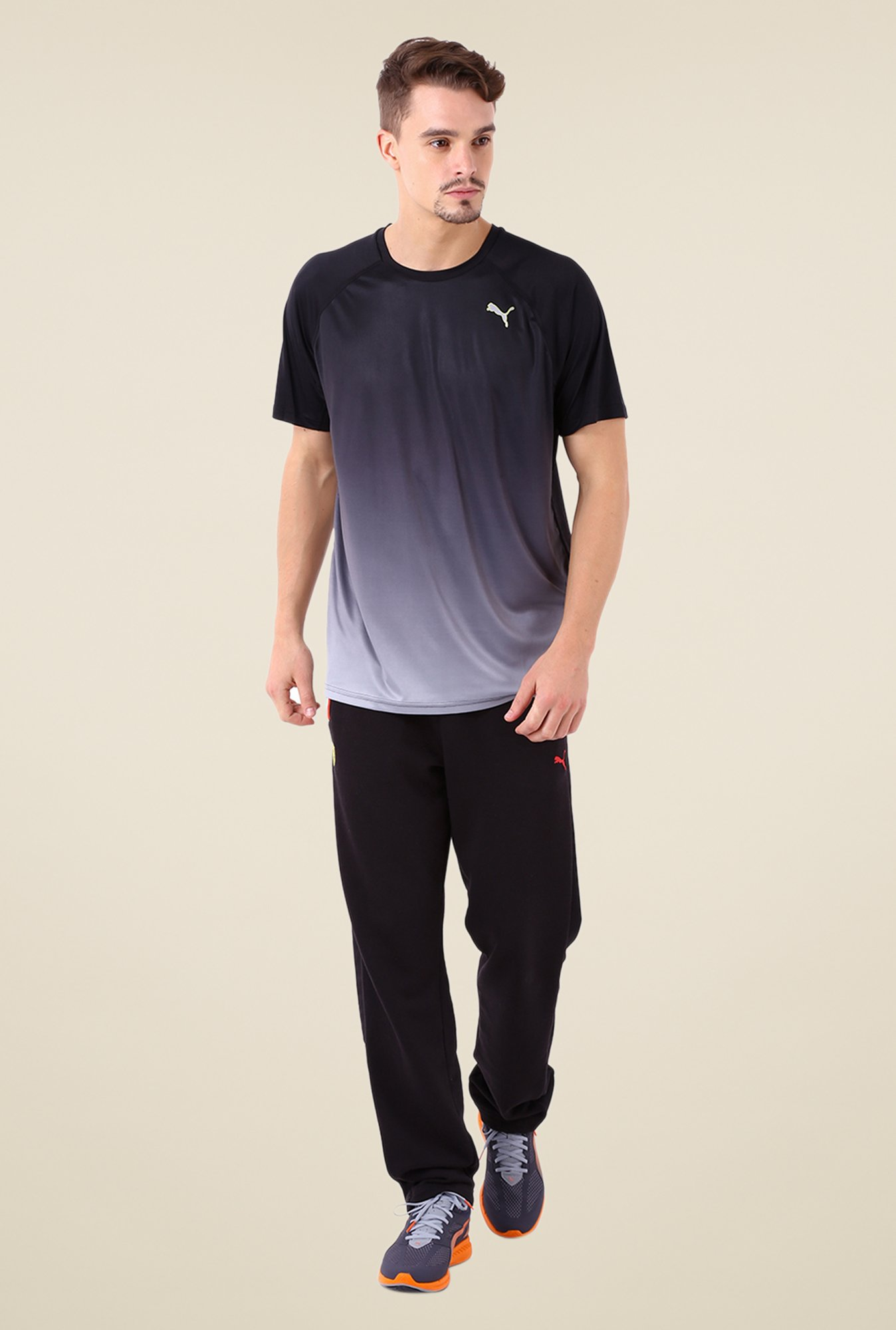 Puma Black Ombre T Shirt