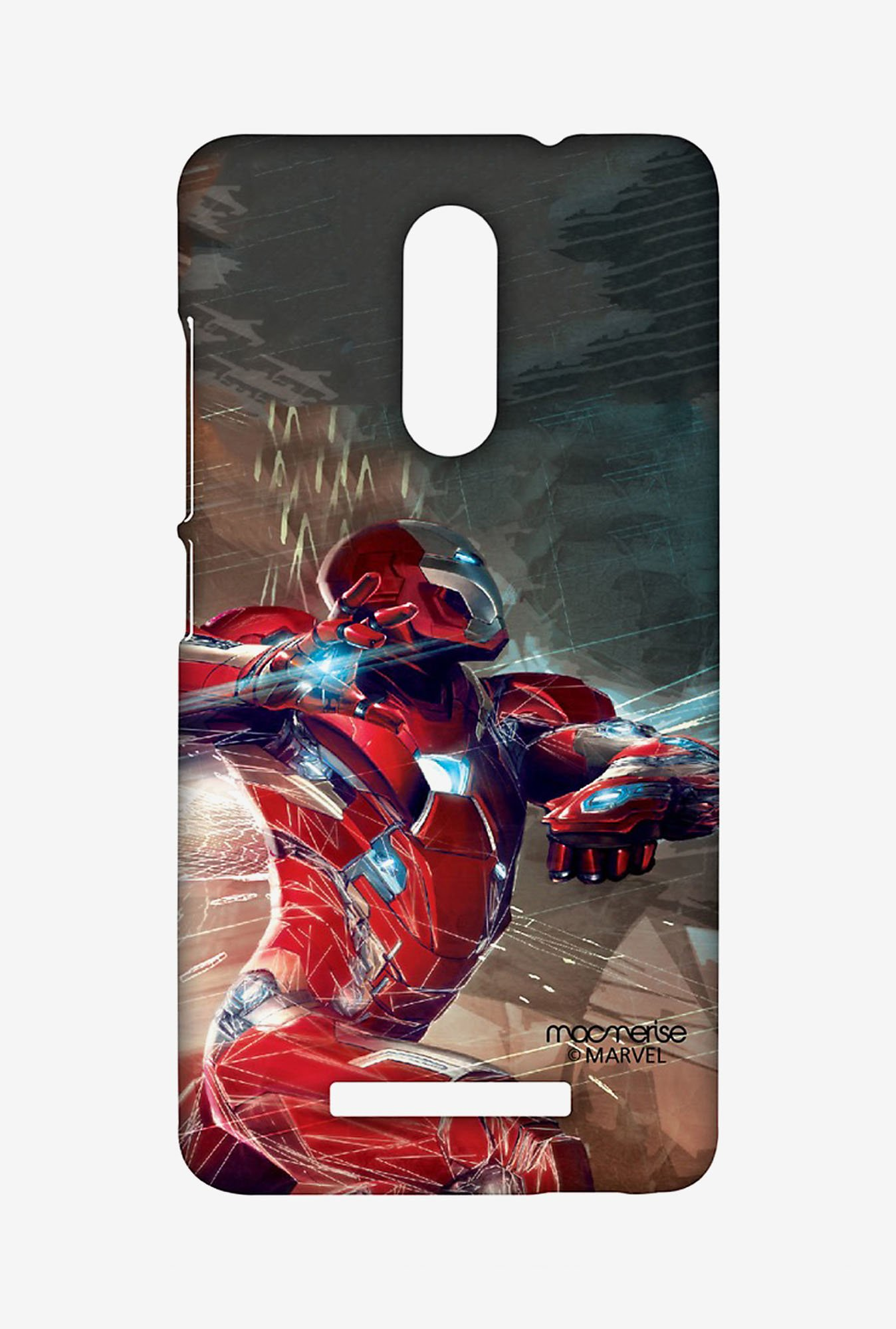 Macmerise XACN3SMM0470 Ironman Attack Sublime Case for Xiaomi Redmi Note 3