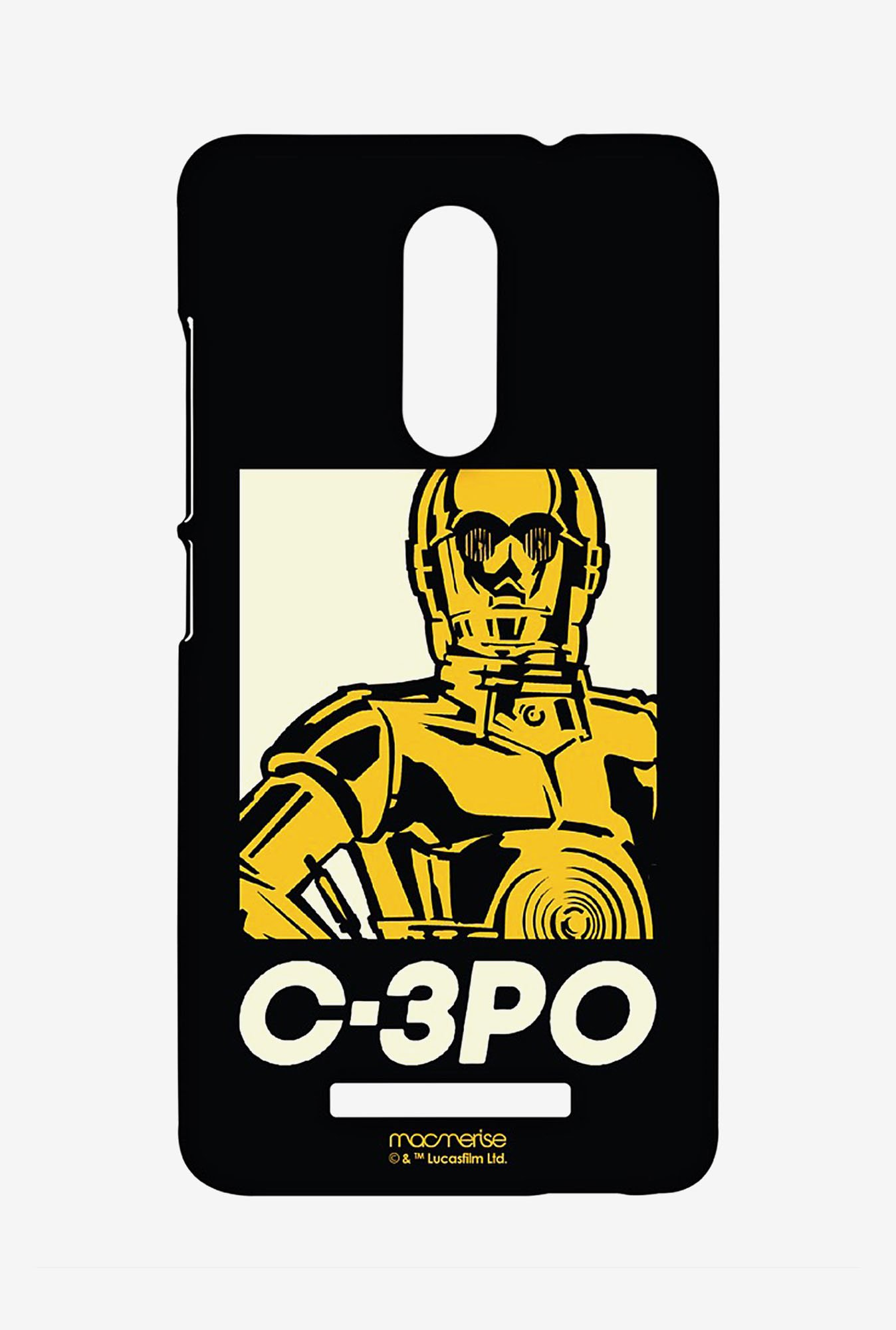 Macmerise XACN3SSW0164 Iconic C3PO Sublime Case for Xiaomi Redmi Note 3