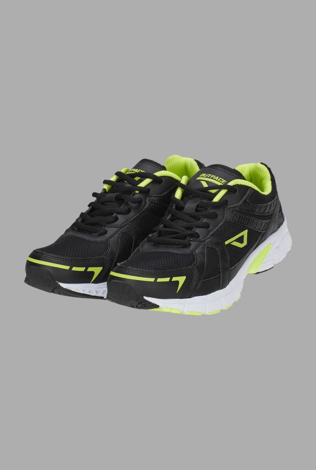 Outpace Black Running Shoes