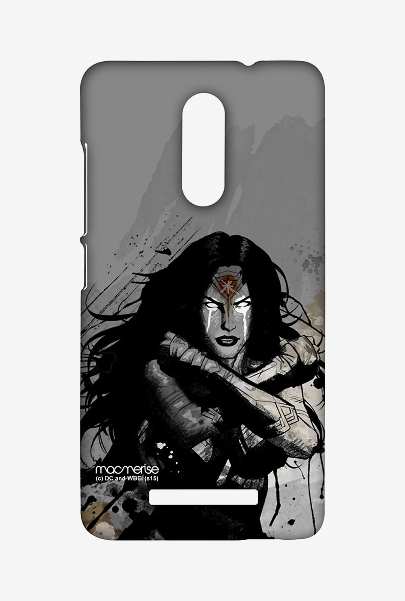 Macmerise XACN3SBS0068 Sketched Wonder Woman Sublime Case for Xiaomi Redmi Note 3