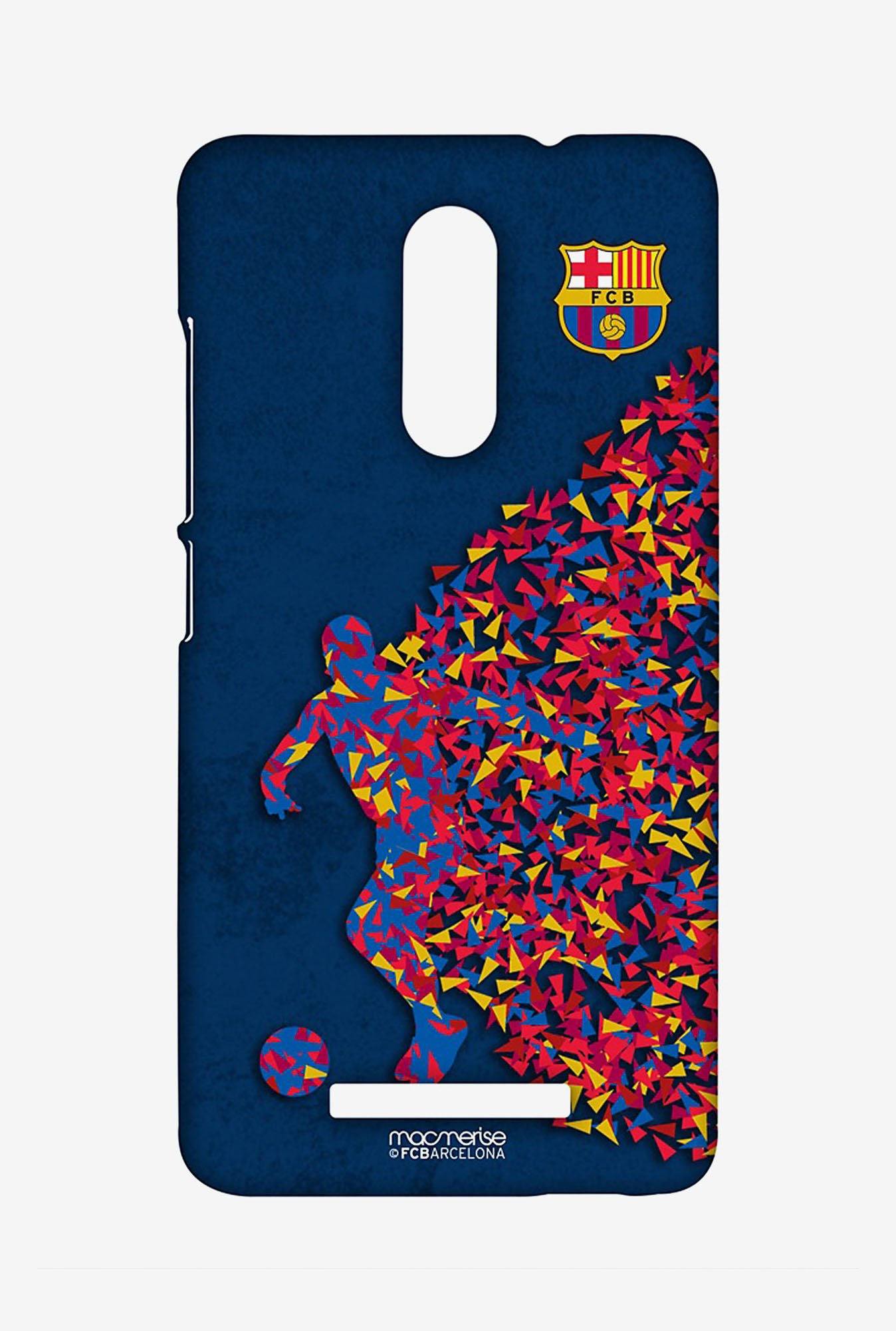 Macmerise XACN3SBA0074 FCB Asymmetrical Art Sublime Case for Xiaomi Redmi Note 3