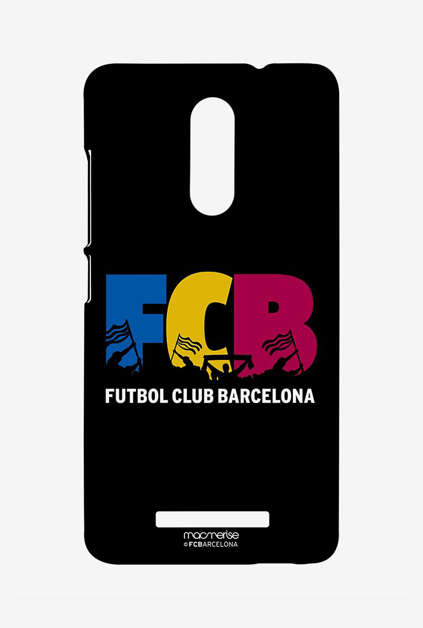 Macmerise XACN3SBA0146 Futbol Club Barcelona Sublime Case for Xiaomi Redmi Note 3