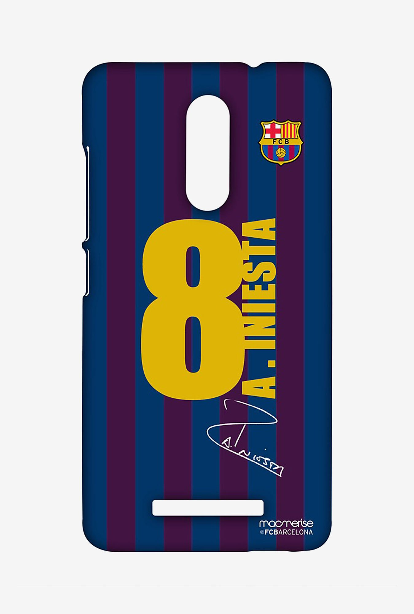 Macmerise XACN3SBA0182 Jersey Iniesta Sublime Case for Xiaomi Redmi Note 3