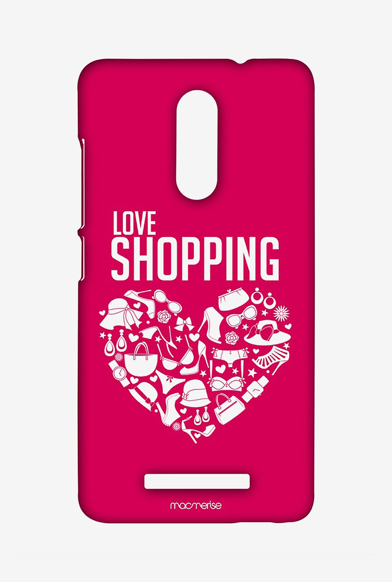 Macmerise XACN3SMI0524 Love Shopping Sublime Case for Xiaomi Redmi Note 3