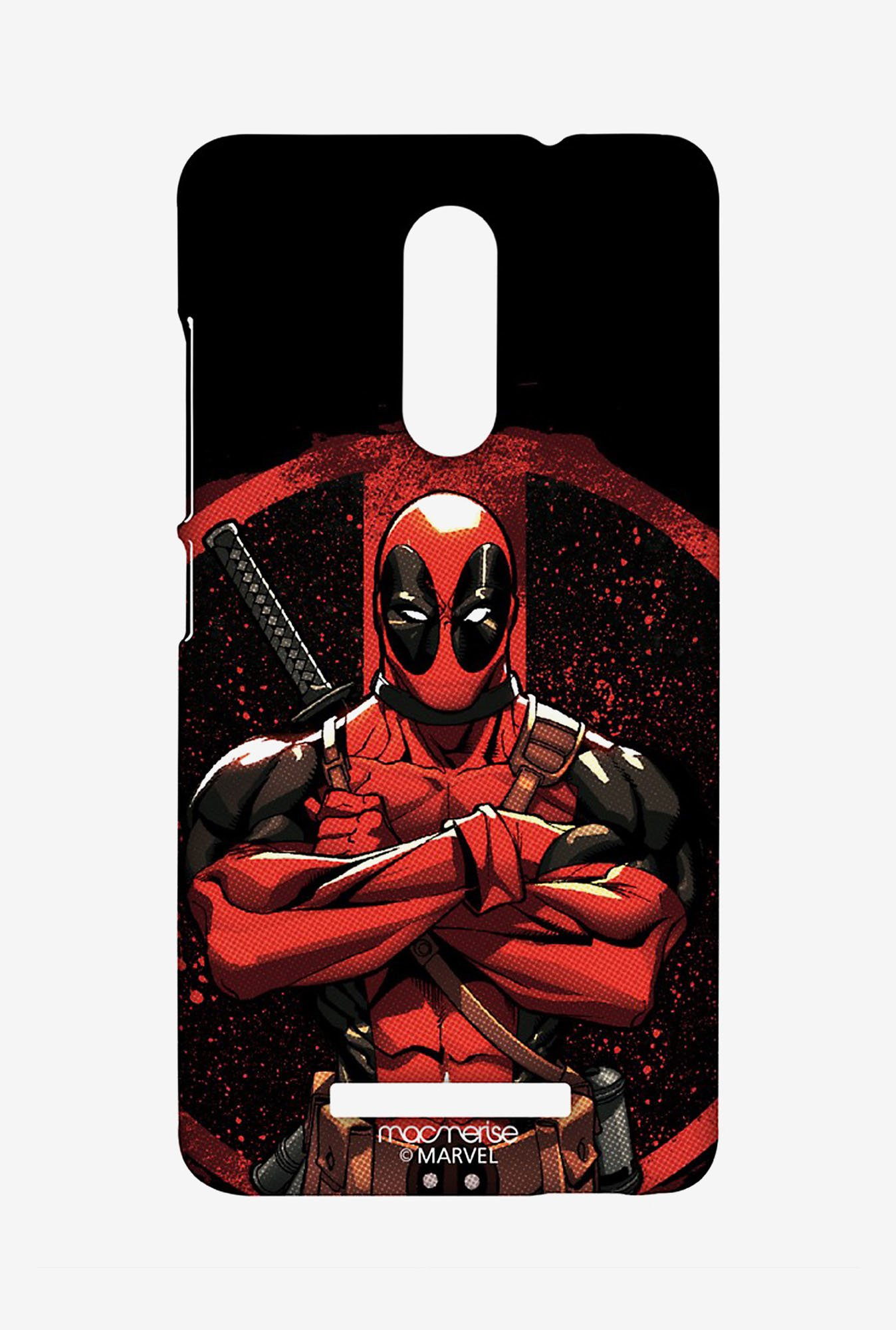 Macmerise XACN3SMM0296 Deadpool Stance Sublime Case for Xiaomi Redmi Note 3