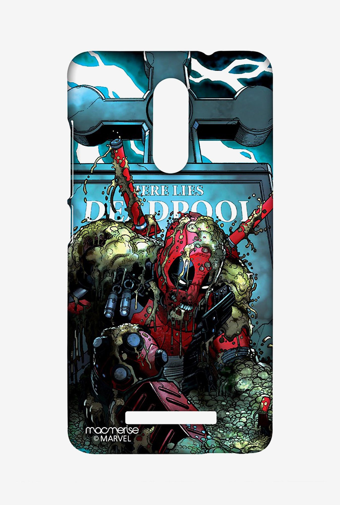 Macmerise XACN3SMM0308 Here lies Deadpool Sublime Case for Xiaomi Redmi Note 3
