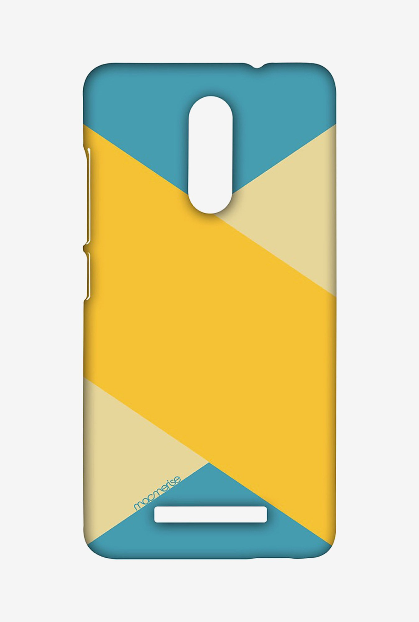 Macmerise XACN3SMI0848 Mustard Stripes Sublime Case for Xiaomi Redmi Note 3
