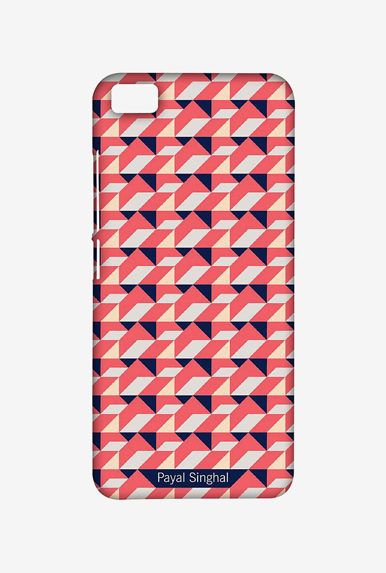 Macmerise XACM5SPS0014 Payal Singhal Coral Navy Sublime Case for Xiaomi Mi5