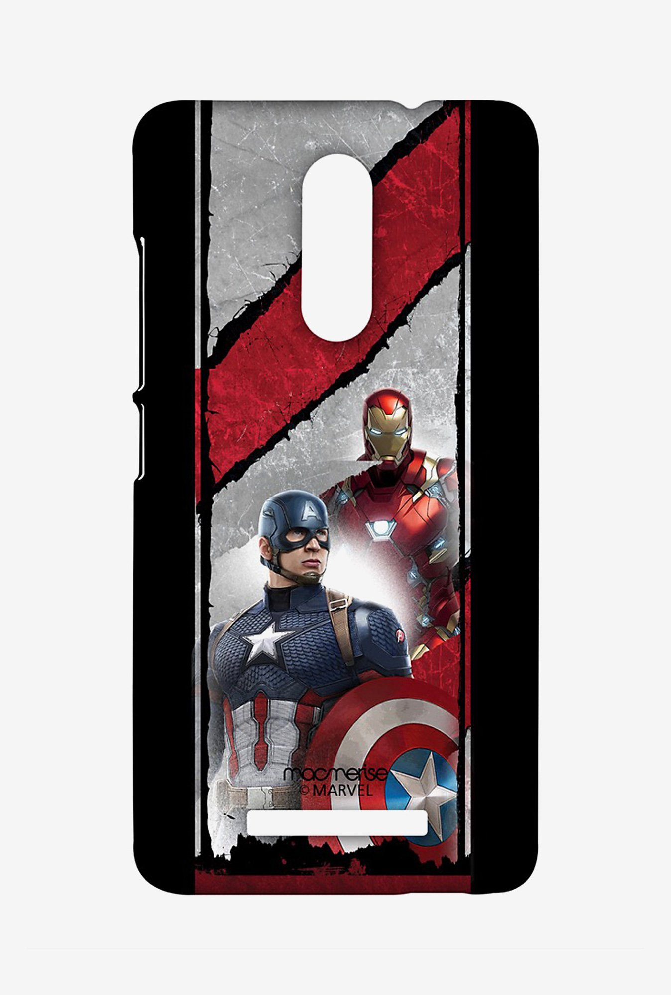 Macmerise XACN3SMM0620 The Civil War Sublime Case for Xiaomi Redmi Note 3