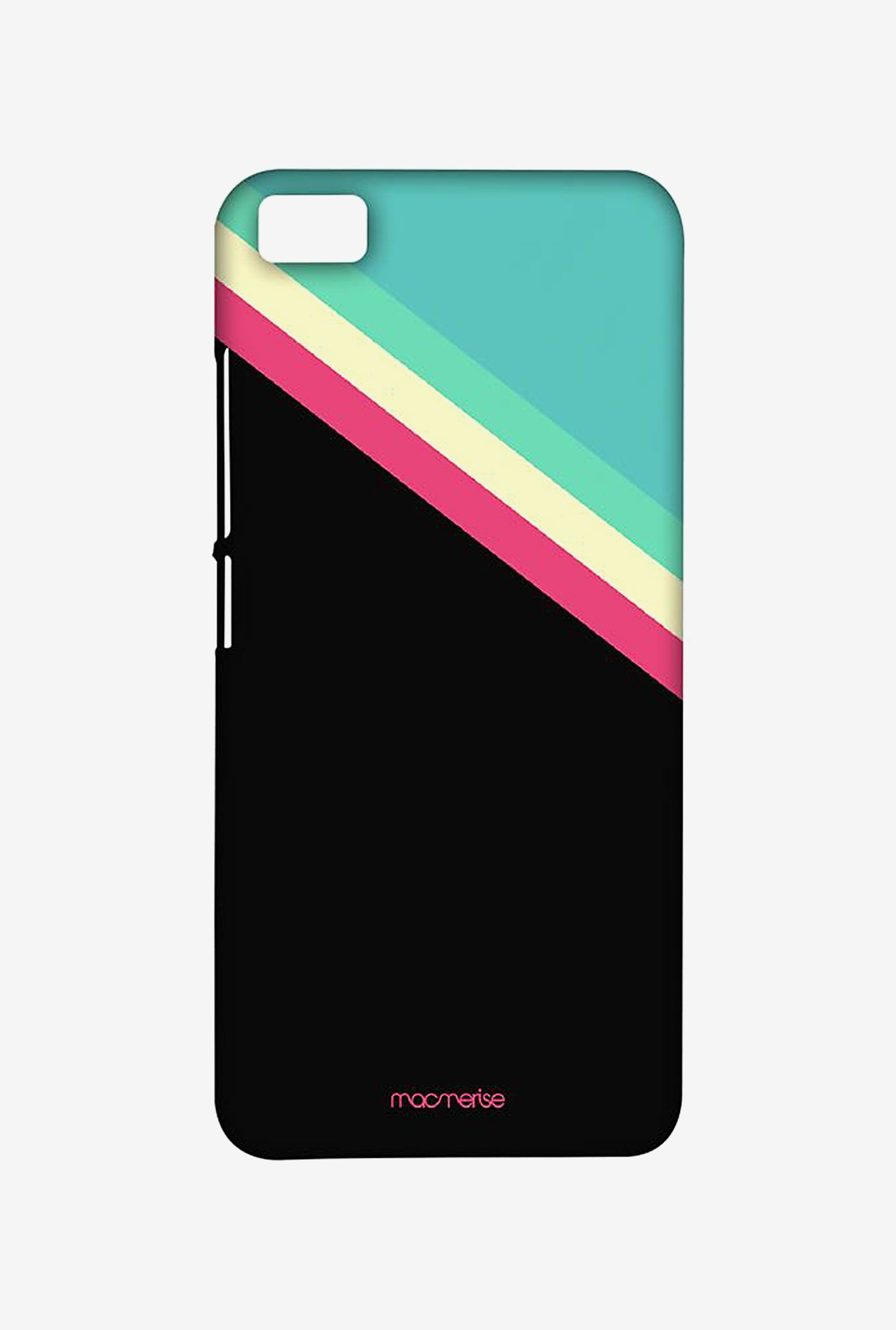 Macmerise XACM5SMI0890 Slope Stripes Black Sublime Case for Xiaomi Mi5