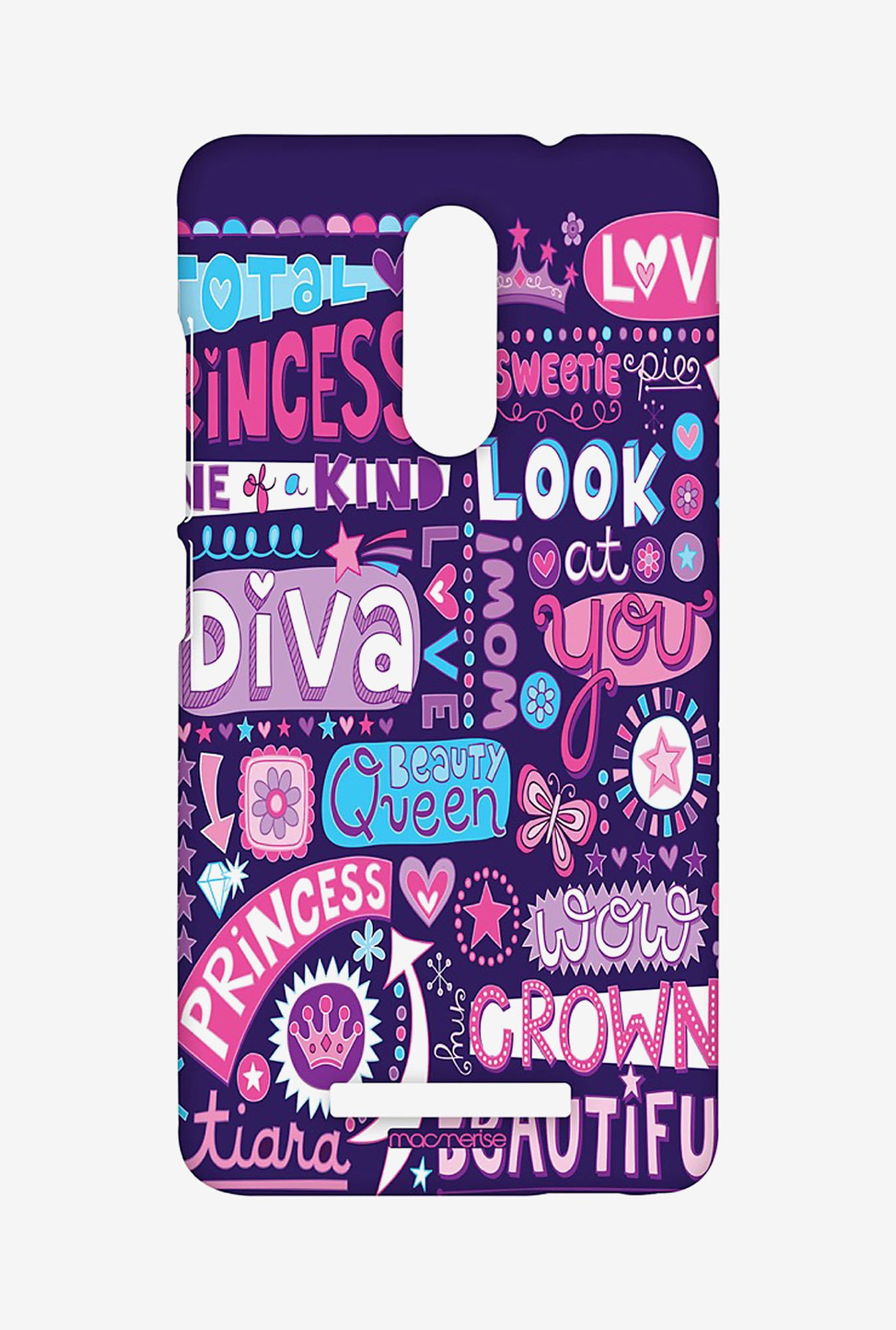 Macmerise XACN3SMI0476 Diva Diaries Sublime Case for Xiaomi Redmi Note 3